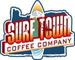 Surf Town Coffee 100% Organic Free Trade Eco Friendly Coffee Roasted with Love